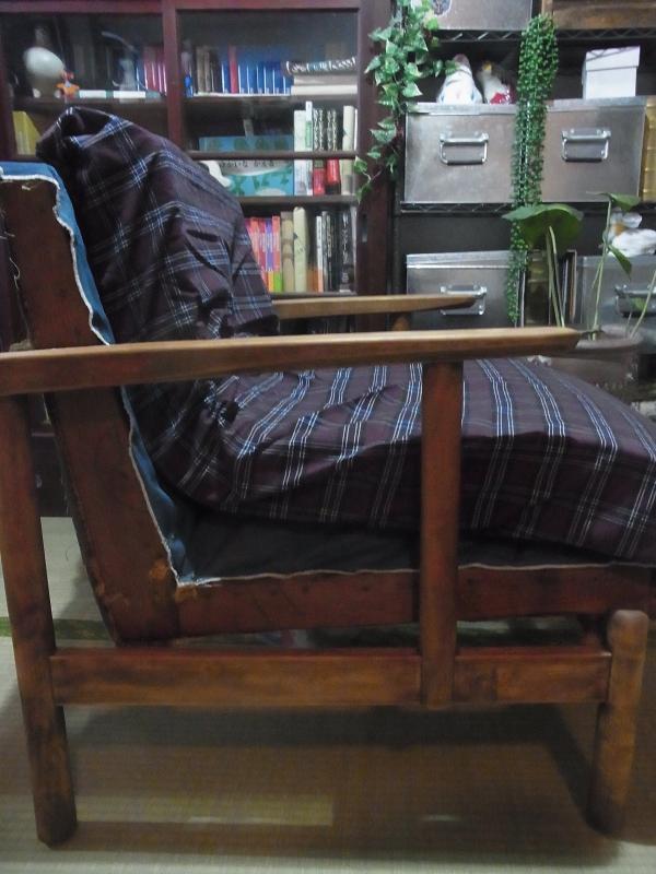 リビングの椅子diy